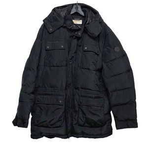 Michael Kors down filled black puffer coat